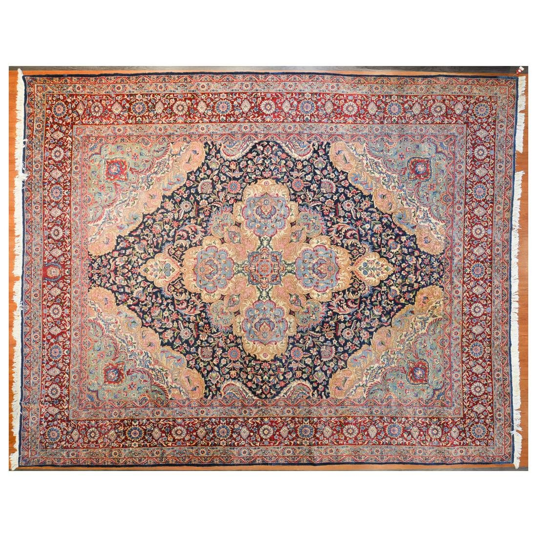 Fine Kerman Carpet, Persia, 11.10 x 14.10