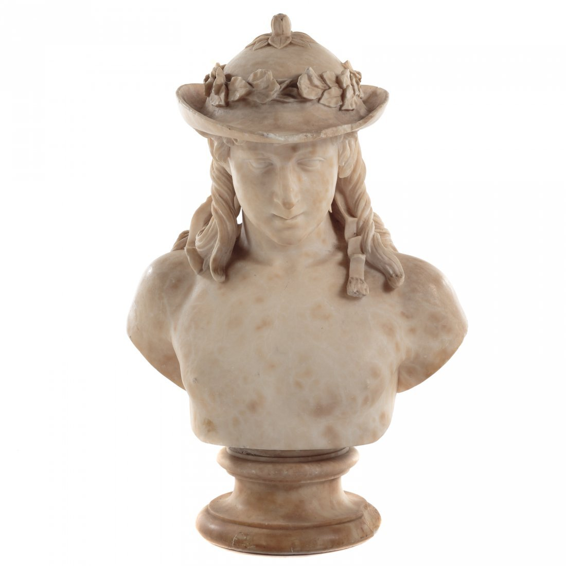 After Donatello, Marble Bust Of David