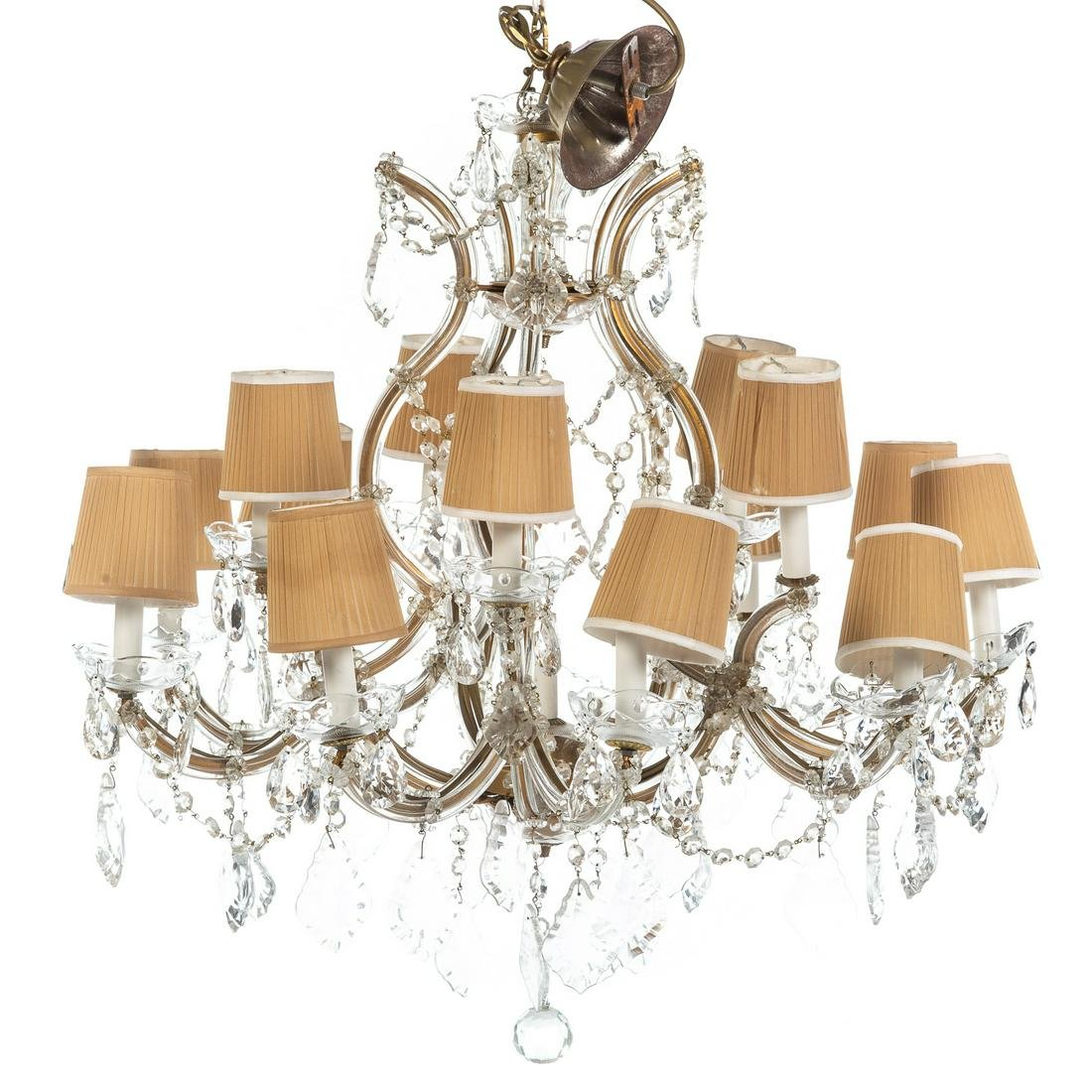 Continental Style 15 Light Crystal Chandelier