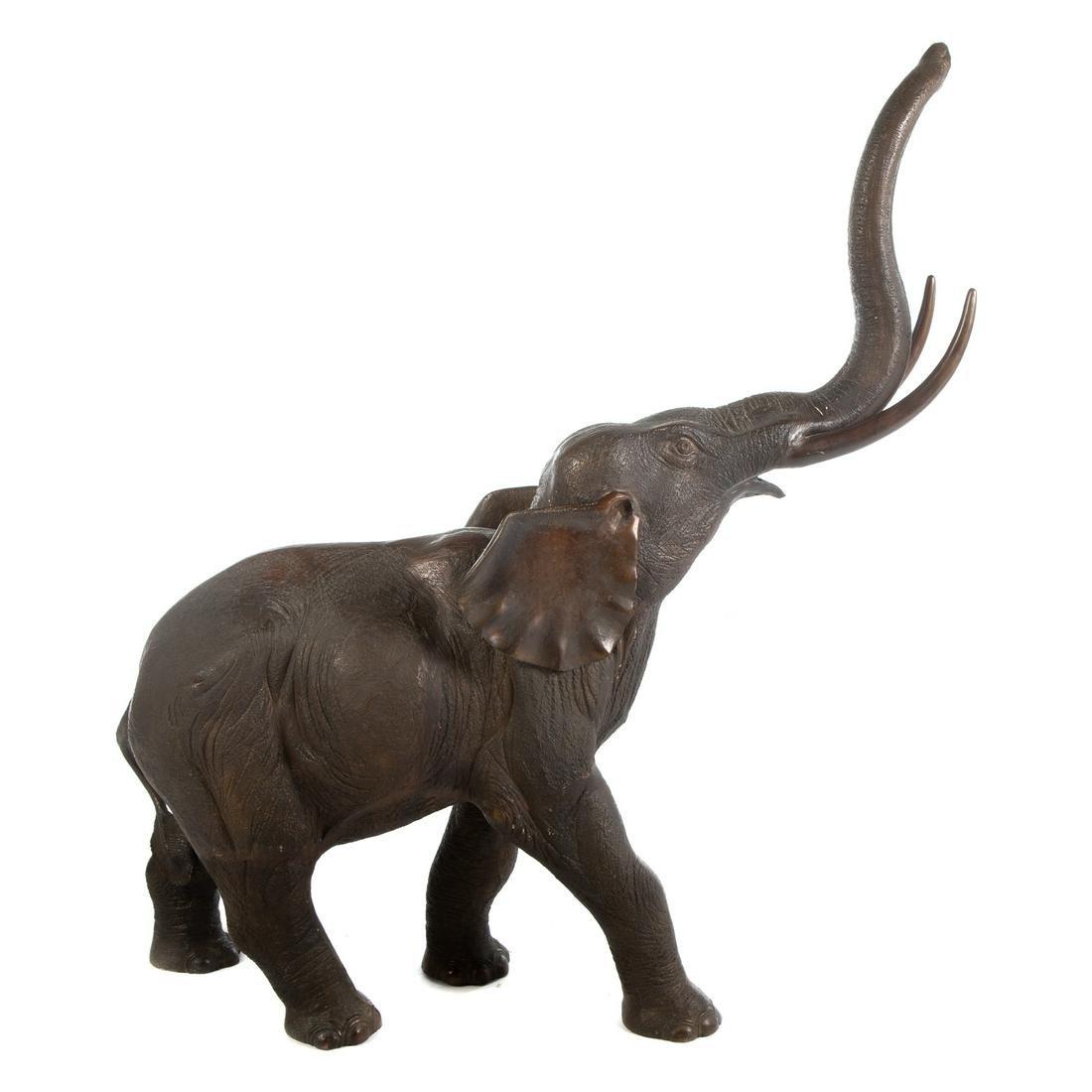Large Elephant Bronze