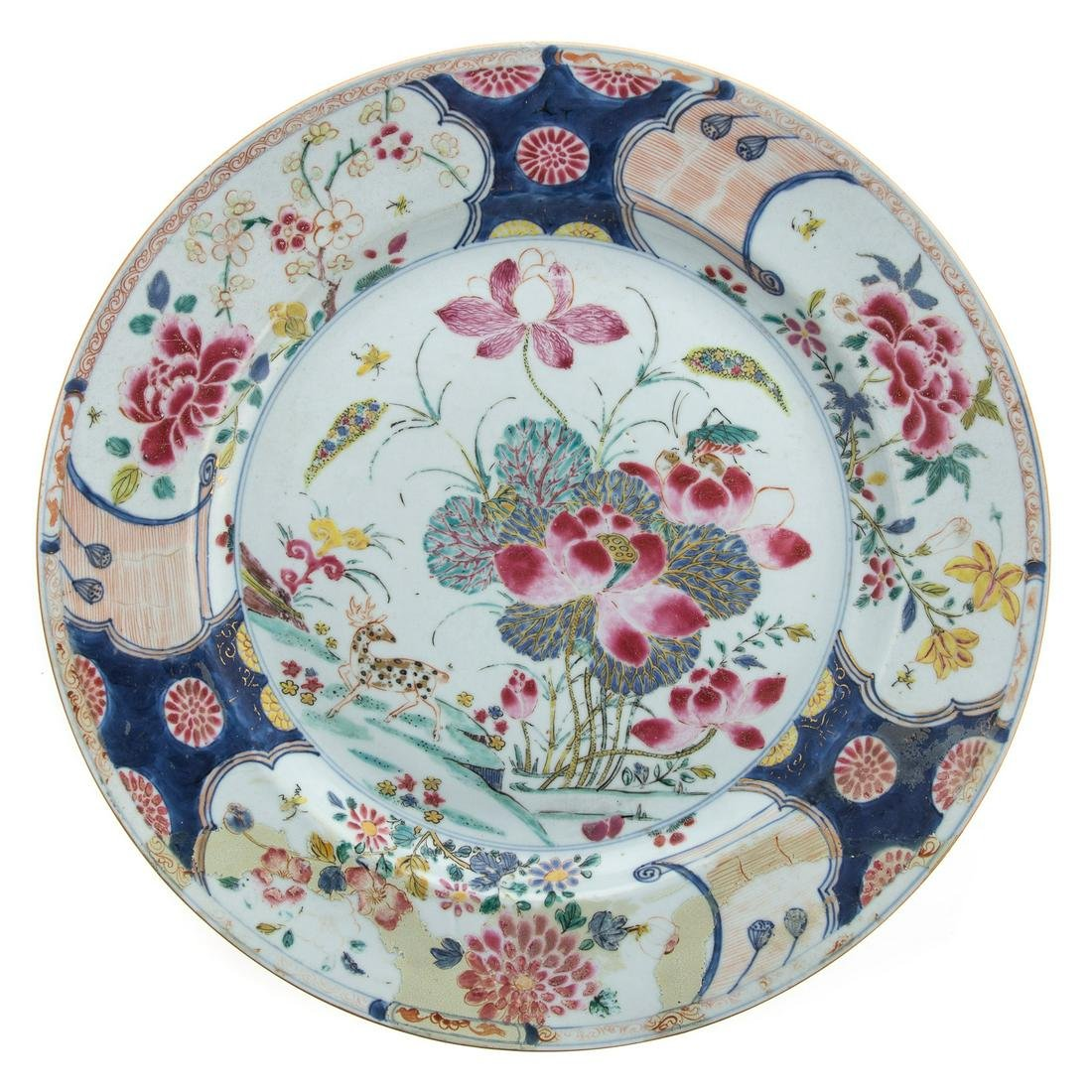 Chinese Export Famille Rose Charger