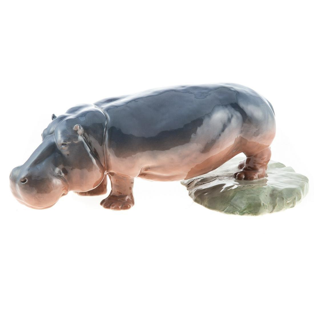 Royal Copenhagen Hippopotamus