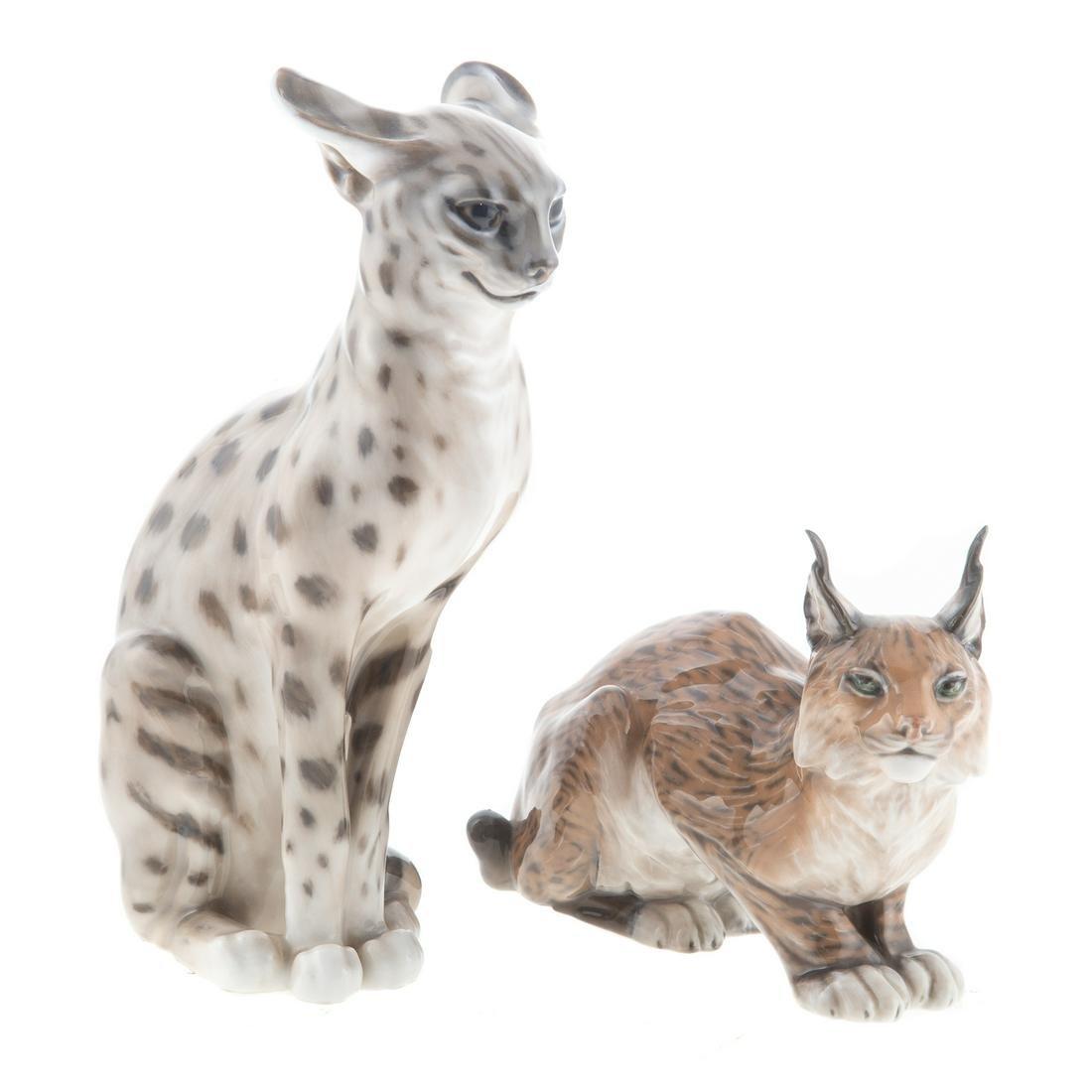 Royal Copenhagen Lynx & Sereval