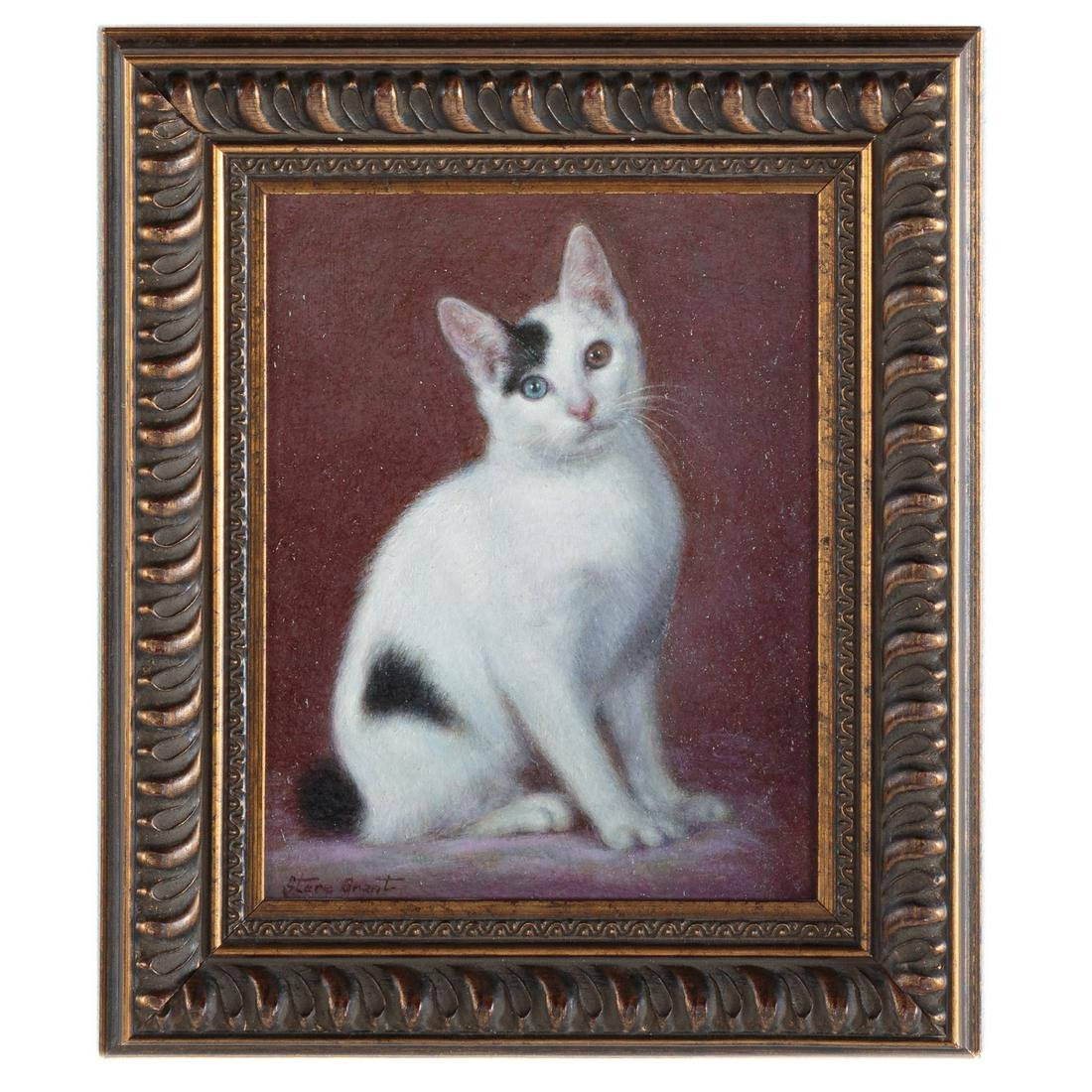 Stere Grant. Seated Cat