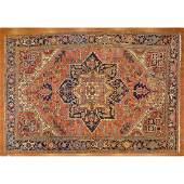Semi-Antique Mehrevan Heriz Rug, Persia,7.4 x 10.8