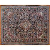 Antique Kashan Rug, Persia, 8.8 x 10.9