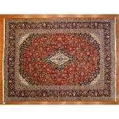 Kashan Carpet, Persia, 9.10 x 13.3