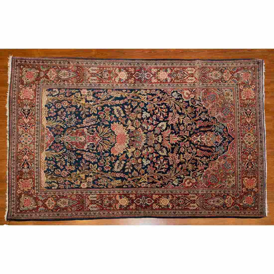 Semi-Antique Kashan Rug, Persia, 4.3 x 6.6
