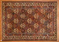 Semi-Antique Bahktiari Rug, Persia, 7 x 9.11