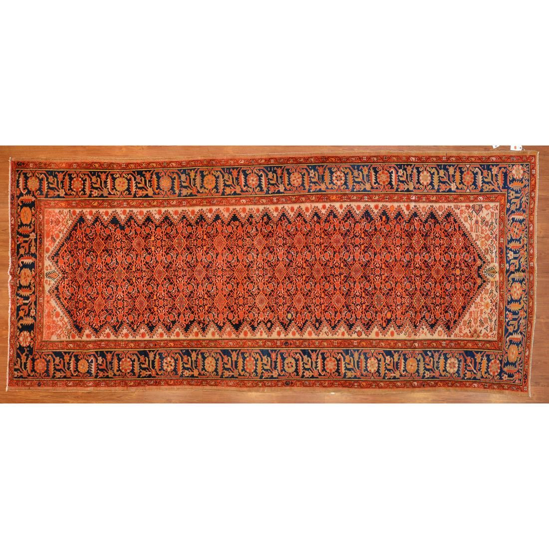 Antique Malayer Rug, Persia, 5.10 x 12.11
