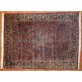 Semi-Antique Sarouk Rug, Persia, 8.5 x 11.3