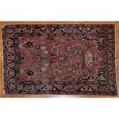 Antique Sarouk Rug, Persia, 3.3 x 4.10