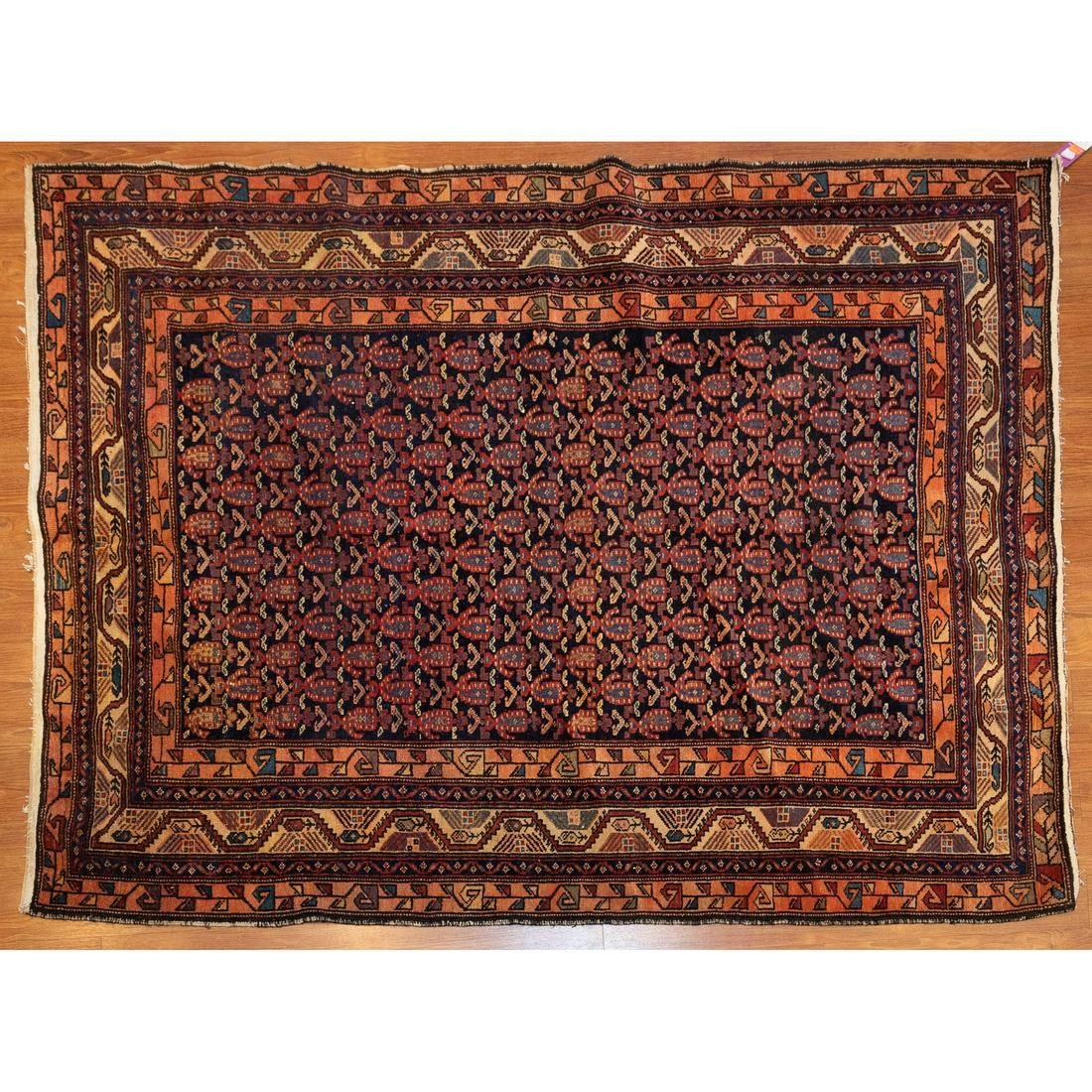Semi-Antique Malayer Rug, Persia, 5 x 6.3