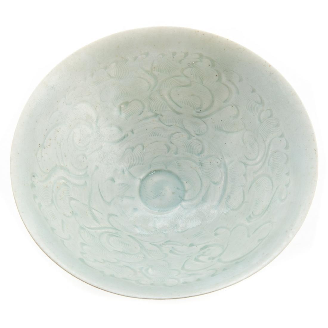 Asian Archaic Chinese Qingbai Porcelain Bowl