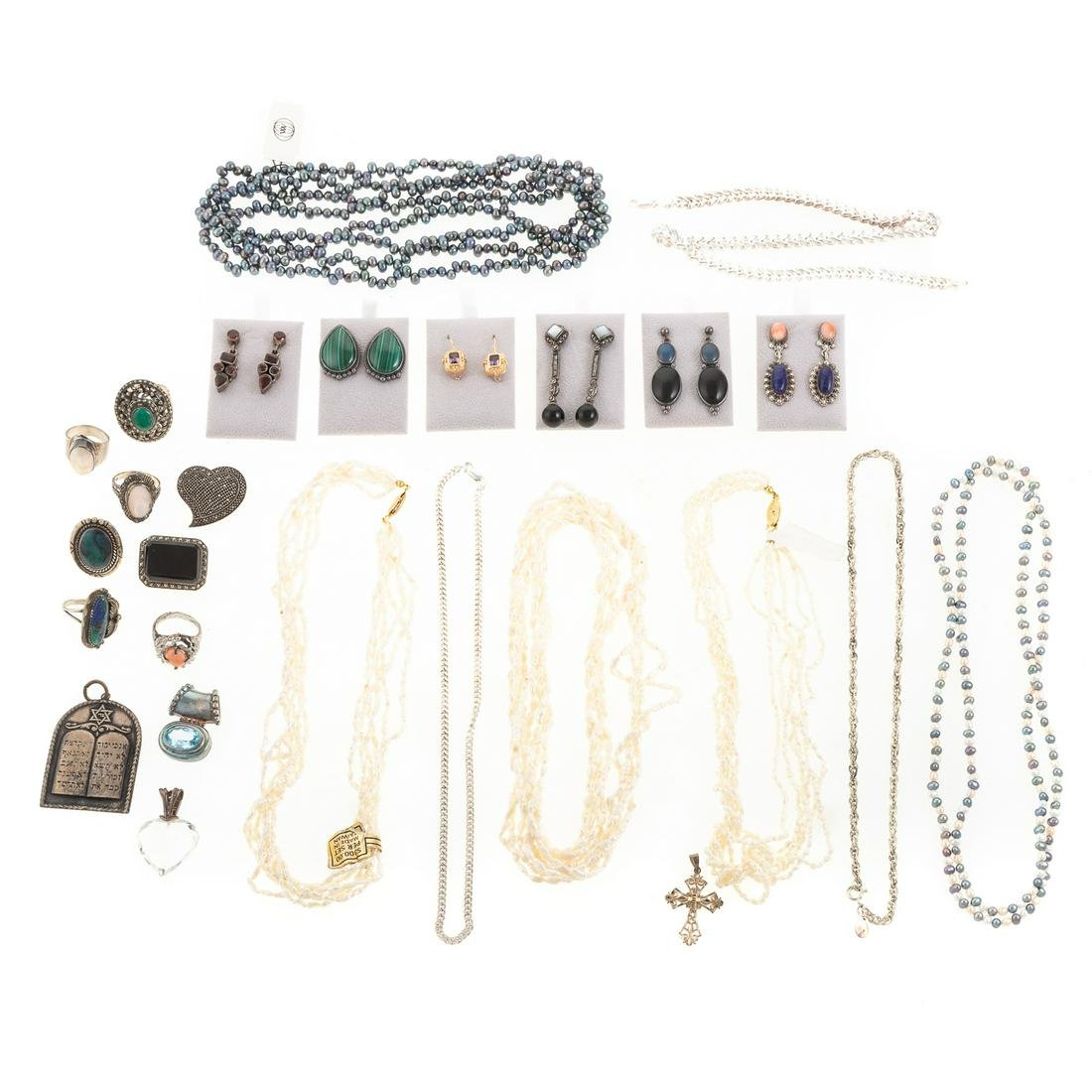 A Collection of FWP & Silver Jewelry