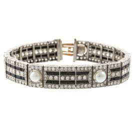 A Lacloche Freres Art Deco Diamond Bracelet