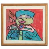 Karel Appel. Abstract Boy