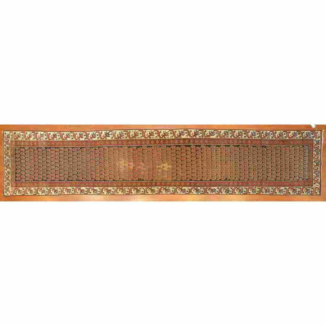 Semi-Antique Malayer Runner, Persia, 2.8 x 13.8