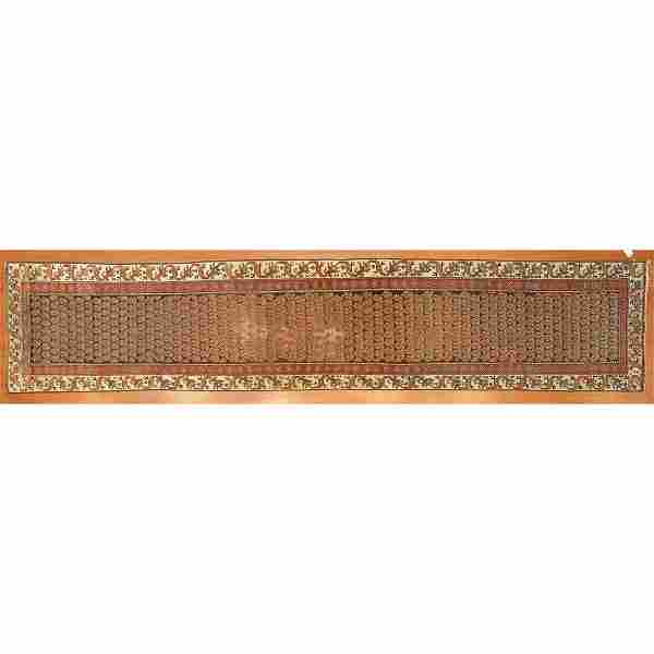 Semi-Antique Malayer Runner, Persia, 2.8 x 13.8