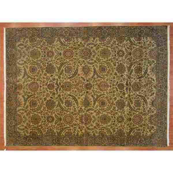 Samad Indo Agra Carpet, India, 9.2 x 12.2