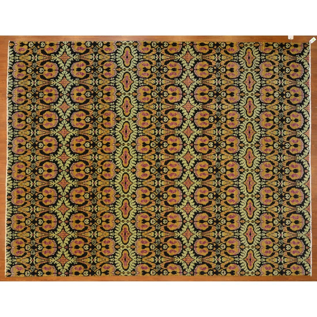 Samad Vogue Collection Carpet, India, 9.1 x 11.9