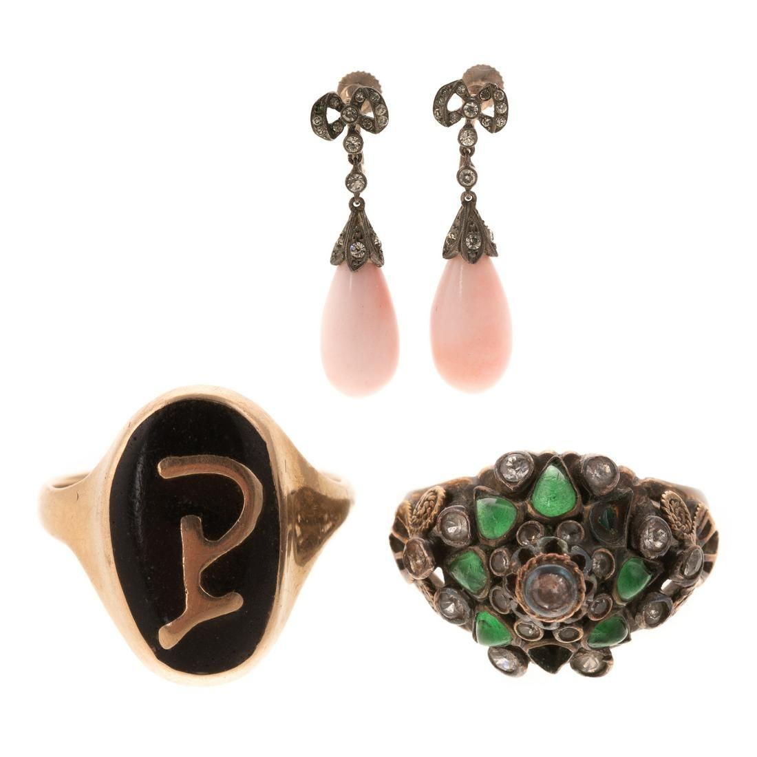 Collection of Gold & Gemstone Jewelry