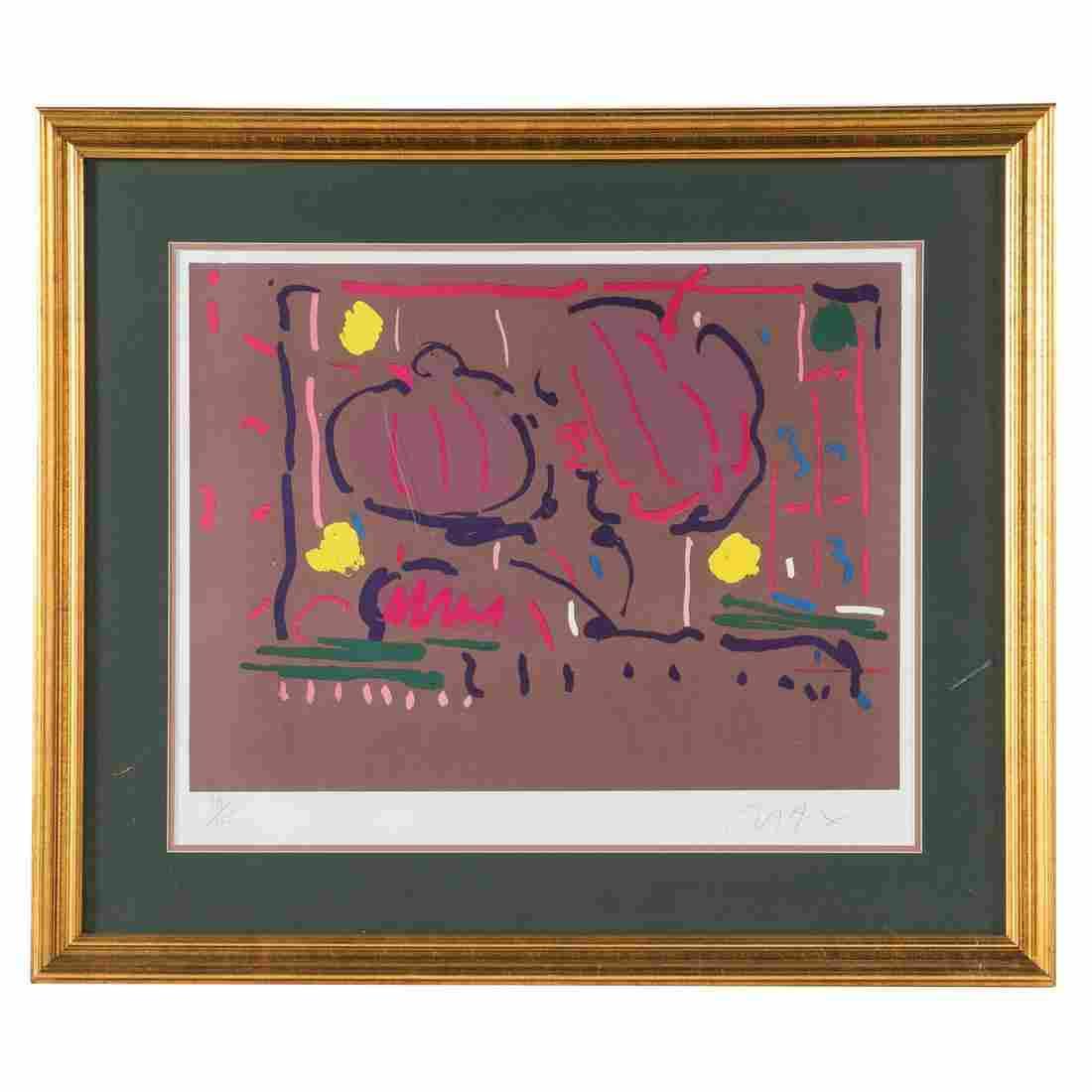Peter Max. Abstract, Serigraph