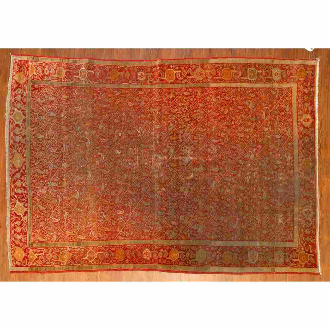 Antique Malayer Rug, Persia, 4.2 x 6.7