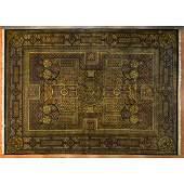 Indo Agra Carpet, India, 10.2 x 14.2