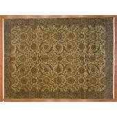 Indo Agra Carpet, India, 9.2 x 12.2