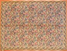 Savonnerie Carpet, China, 8.10 x 12