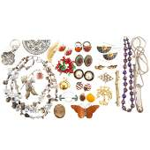 A Collection of Ladies Fashion  Costume Jewelry
