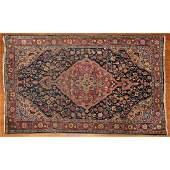 Semi-Antique Sarouk Rug, Persia, 3.9 x 5.2