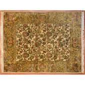Indo Agra Rug, India, 8 x 10.2