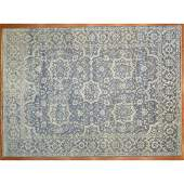 Indo Oushak Carpet, India, 10. 1 x 13.11