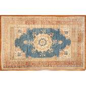Semi Antique Oushak Rug, Turkey, 5.6 x 8.2