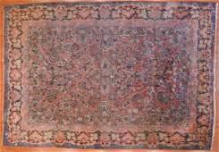 Semi-Antique Sarouk Carpet, Persia, 10.7 x 15.2