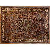 Semi-Antique Hamadan Carpet, Persia, 8.10 x 12.3