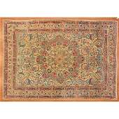 Semi-Antique Lavar Kerman Rug, Persia, 7 x 10