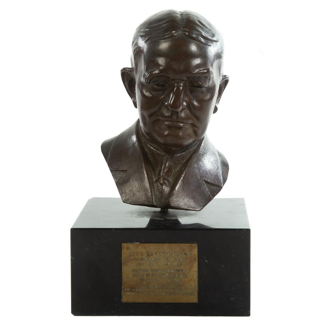 Charles Farrar, Bronze Bust of John Barton Payne
