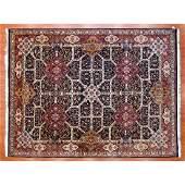 Indo Agra Carpet, India, 9.1 x 11.11