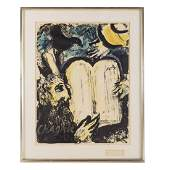 Marc Chagall Signed 1962 Exhibition Poster