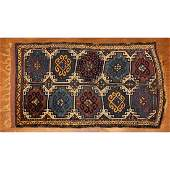 Semi-Antique Caucasian Rug, 3.4 x 6.4
