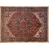 Semi Antique Heriz Carpet, Persia, 10.5 x 14