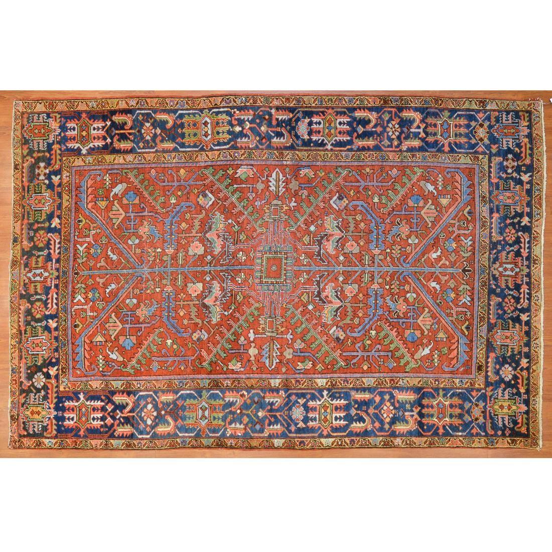Semi-Antique Heriz Rug, Persia, 6.5 x 10