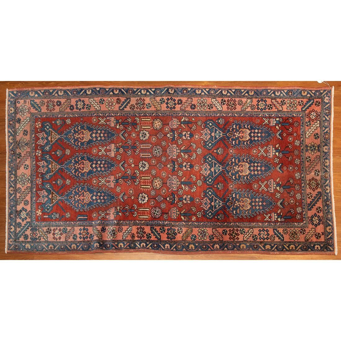 Semi-Antique Malayer Rug, Persia, 3.5 x 6.2