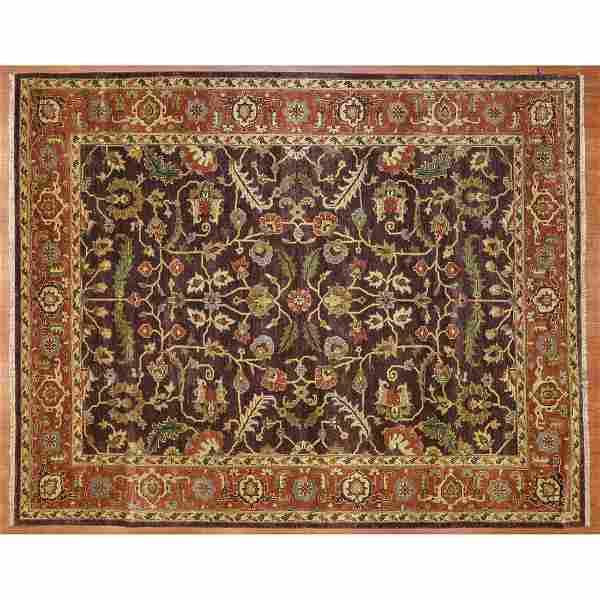 Indo Agra Rug, India, 7.10 x 9.9