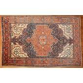 Semi-Antique Farahan Sarouk Rug, Persia, 4.4 x 6.6