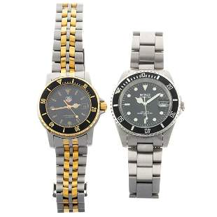 A Collection of Tag Heuer & Benrus Wrist Watches