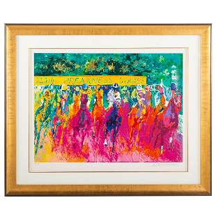 "LeRoy Neiman. ""125th Preakness Stakes,"" serigraph"
